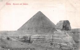 CAIRO - PYRAMID AND SPHINX #97543 - Cairo