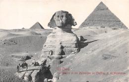 CAIRO - PYRAMID AND SPHINX #97544 - Cairo