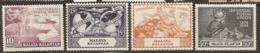 Malaya  Kelantan   1949    SG  57-60  U P U  Mounted Mint - Kelantan