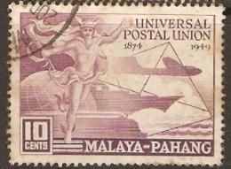 Malaya  Pahang    1949    SG  49  U P U    Fine Used - Pahang
