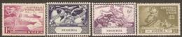 Nigeria  1949  SG  64-7   U P U   Mounted Mint - Nigeria (...-1960)