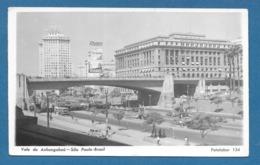 BRASIL SAO PAULO VALE DO ANHANGABAU 1953 - São Paulo
