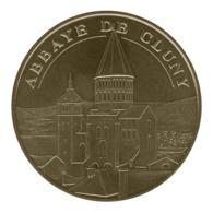 Monnaie De Paris , 2019 , Cluny , Abbaye , Face Semi-cerclée - Monnaie De Paris