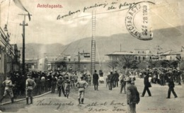 ANTOFAGASTA. (CHILE). BOMBEROS PRACTICANDO - Chile