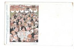 CPA JUGEND I 25 ZUMBUSCH ART NOUVEAU - Illustrateurs & Photographes