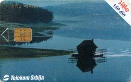 *SERBIA* - Scheda A Chip Usata - Telefoonkaarten