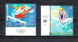 ONU  Wien  - 1996. Ginnastica Maschile E Corsa Ostacoli. Men's Gymnastics And Obstacle Course. Complete MNH Series - Summer 1996: Atlanta