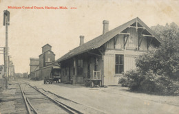 Michigan Central Depot Hastings Michigan - Etats-Unis