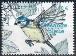 Yt 5238-1 Mesange Bleue-cachet Rond - Gebraucht