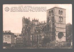 Huy - La Collégiale - Carte D'honneur Petit Seminaire De Saint-Roch (Ferrières) - Hoei