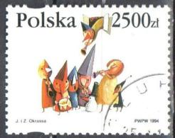 Poland  1994 Christmas - Mi 3516 - Used Gestempelt - Used Stamps
