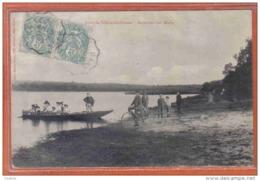 Carte Postale 72. Sillé-le-Guillaume  Excursion Sur L'étang  Trés Beau Plan - Sille Le Guillaume