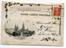 14 BAYEUX Et Ses Environs CARTE Triple Editée Par Syndicat Initiative Calvados 1908 D16 2019 - Bayeux