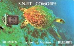 *COMORE* - Scheda A Chip Usata - Comoren