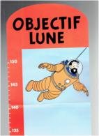 TOISE HERGE OBJECTIF LUNE 1994 TINTIN MILOU PUBLICITE LU EN SUPERBE BON ETAT - Objets Publicitaires