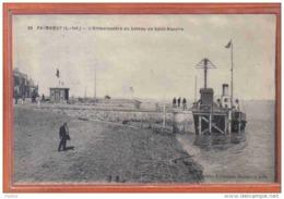 Carte Postale 44. Paimboeuf  L'embarcadère Du Bateau De St-Nazaire  Trés Beau Plan - Paimboeuf
