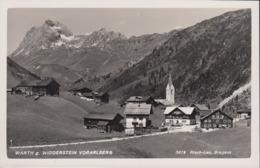 Austria - 6767 Warth  - Gegen Widderstein - Warth