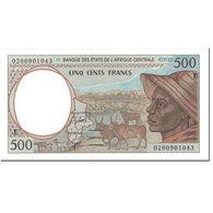 Billet, États De L'Afrique Centrale, 500 Francs, 2002, Undated (2002) - Centraal-Afrikaanse Staten