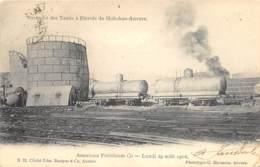 Hoboken  -  Incendie Des Tanks à Pétrole - Antwerpen