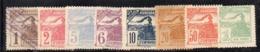 APR1870 - HONDURAS 1898 ,  Yvert N. 84/91 Mista  Senza Gomma/usato  (2380A) - Honduras