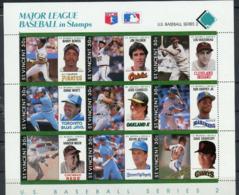Saint Vincent   1989  Base Ball - Baseball