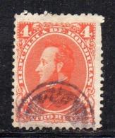APR1888 - HONDURAS 1878 ,  Yvert N. 19 Usato  (2380A) - Honduras