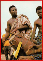 Ghana Afrique Africain Noir Tambour Batteur Musicien Musique Etranger - Ghana - Gold Coast