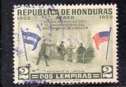 APR1765 - HONDURAS 1959 ,  Posta Aerea Yvert N. 276 Usato  (2380A) - Honduras