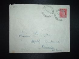 LETTRE TP M. DE GANDON 6F OBL. HOROPLAN 6-9 46 ST MAIXENT L'ECOLE DEUX-SEVRES (79) - Postmark Collection (Covers)