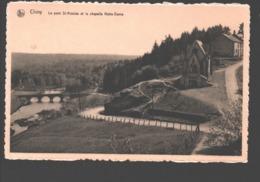 Chiny - Le Pont St-Nicolas Et La Chapelle Notre-Dame - Chiny
