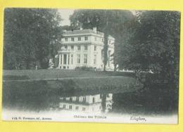 * Edegem - Edeghem (Antwerpen - Anvers) * (G. Hermans, Nr 110) Chateau Des Tilleuls, Kasteel Ter Linden, étang, Rare - Edegem