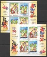 T1053 2010 ROMANIA ART EUROPA CARTOONS CHILDREN BOOKS 2KB !!! MICHEL 34 EURO !!! MNH - Arte