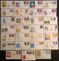 Europa - FDC - Premier Jour - Lot De 27 FDC - 1966 - Europa-CEPT