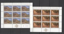 P1050 1977 YUGOSLAVIA EUROPA CEPT ART PAINTINGS 2KB MNH - Europa-CEPT