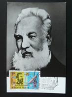 Carte Maximum Card Graham Bell Telephone Hongrie Hungary (ref 85949) - Telecom