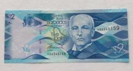 BARBADOS P35 2 DOLLARS 1980 UNC - Barbados