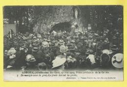 * Edegem - Edeghem (Antwerpen - Anvers) * (Climan Ruyssers, Nr 7) Jubelfeesten Der Grot 17 Mei 1909, La Foule, Grotte - Edegem