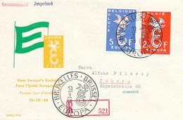 EUROPA CEPT Jahrgang 1958 - Siehe Scan - FDC - 1958
