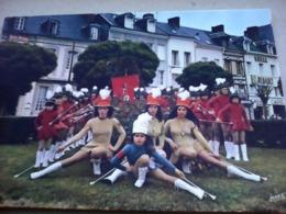 CARTE POSTALE MAJORETTES LES COCCINELLES BACQUEVILLE EN CAUX 76 SEINE MARITIME - Musique