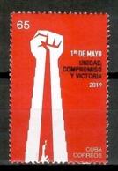 Cuba 2019 / Work Day 1st Of May MNH 1 De Mayo Dia Del Trabajo / Cu13737  C4-4 - Cuba