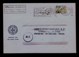 CITROEN Auto-maca Ambulance Nat.fireman Cong.1982 Figueira Da Foz Portugal Secourisme Transport Handicaps Accidents 3222 - First Aid