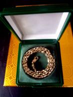 Goldkette Massiv 10 Karat Echtgold,gestempelt 417 Gold,cadena De Oro,gold Chain,chaîne En Or - Halsketten