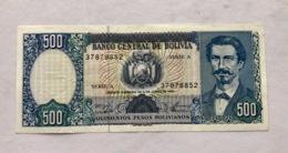 BOLIVIA P165 500 PESOS BOLIVIANOS 01.06.1981 UNC - Bolivia