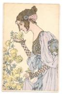 CPA M M VIENNE 119 FEMME ART NOUVEAU JUGENDSTIL - 1900-1949