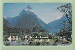 New Zealand - Private Overprint - 1994 Milford Sound $5 - Mint - NZ-CO-24 - New Zealand