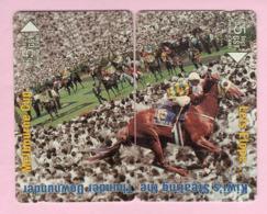 New Zealand - Private Overprint - 1993 Melbourne Cup Puzzle Set (2) - Mint - NZ-CO-15 - New Zealand