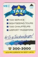 New Zealand - Private Overprint - 1993 Auckland Co-op Taxis $5 - Mint - NZ-CO-10 - New Zealand