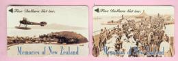 New Zealand - Private Overprint - 1994 Memories Of NZ Set (2) - Mint - NZ-CO-32 - New Zealand