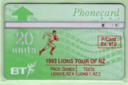 New Zealand - Private Overprint - 1992 Phonecard Exchange #10 - VFU - NZ-PO-13A - New Zealand