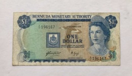 BERMUDA P23 1 DOLLAR 1.12.1976 VF - Bermudes